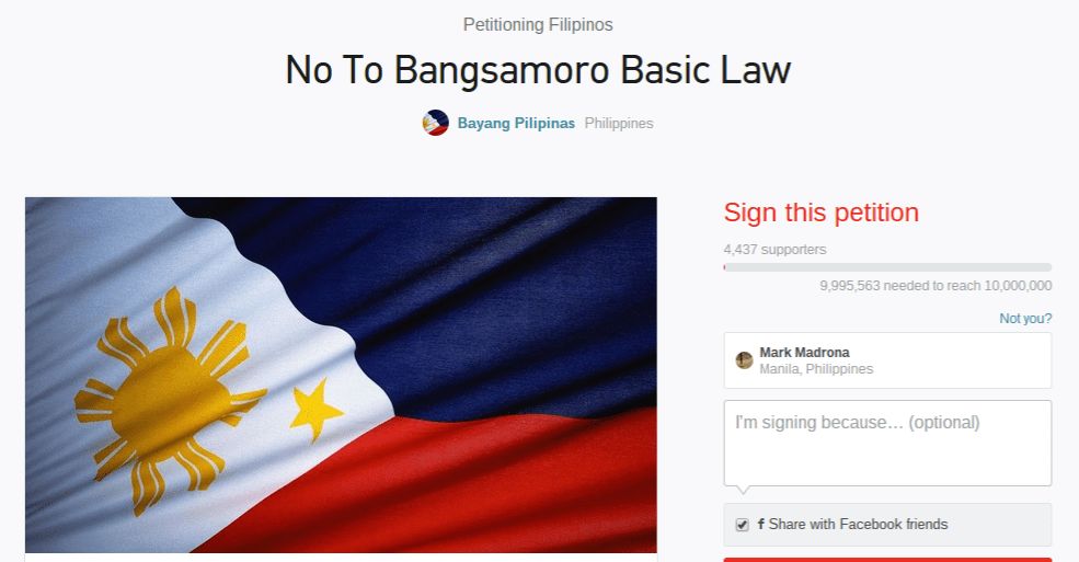 bangsamoro essay tagalog