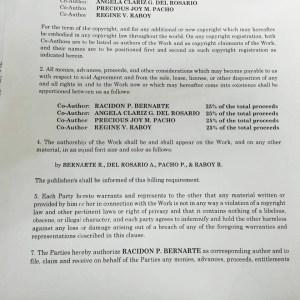 coauthorship agreement