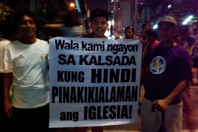 The freedom of speech of Iglesia ni Cristo members must be respected