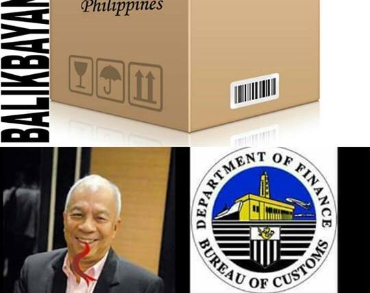 The Bureau of Customs is wrong in going after balikbayan boxes