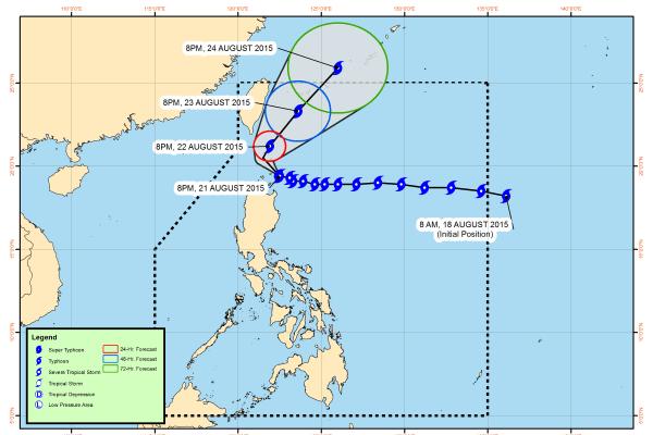 typhoon ineng august 2015