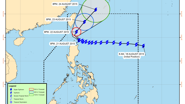 typhoon ineng august 2015