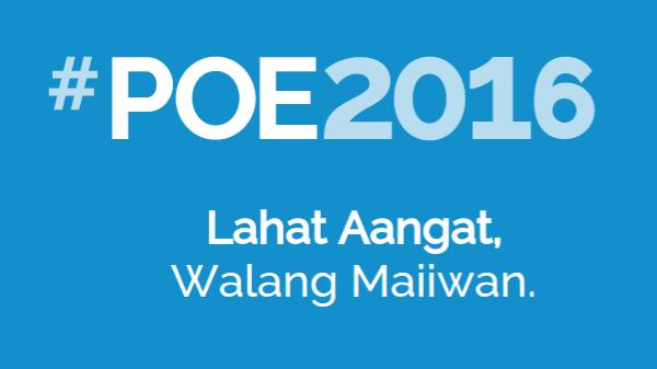 Grace Poe declares presidential bid, unveils 20-point platform