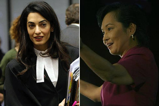 amal clooney and gloria arroyo
