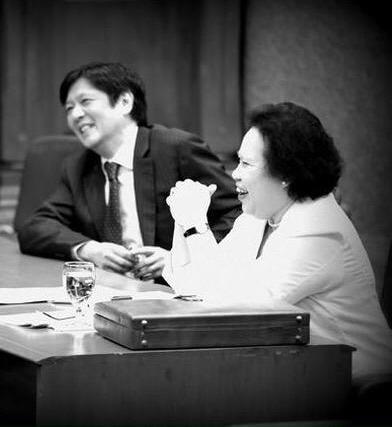 Explaining the political alliance of Miriam Santiago and Bongbong Marcos