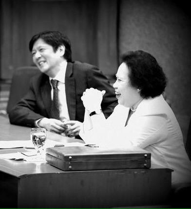 miriam and bongbong 2016
