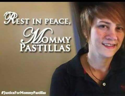 pastillas girl mother shot dead