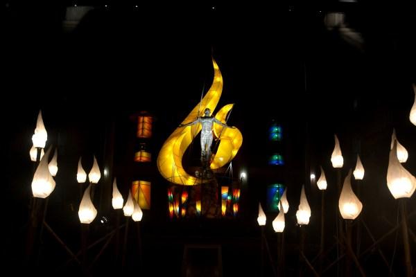 UP diliman christmas lights