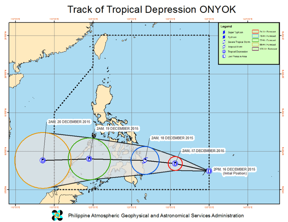 tropical depression onyok 2015