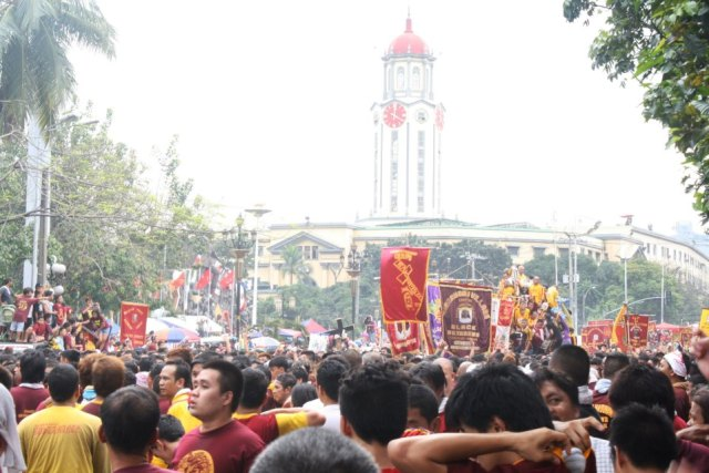 Class suspensions for January 8 2016 due to the Feast of Black Nazarene