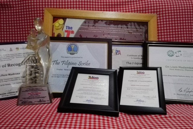 THANK YOU VERY MUCH! | Celebrating five years of The Filipino Scribe!