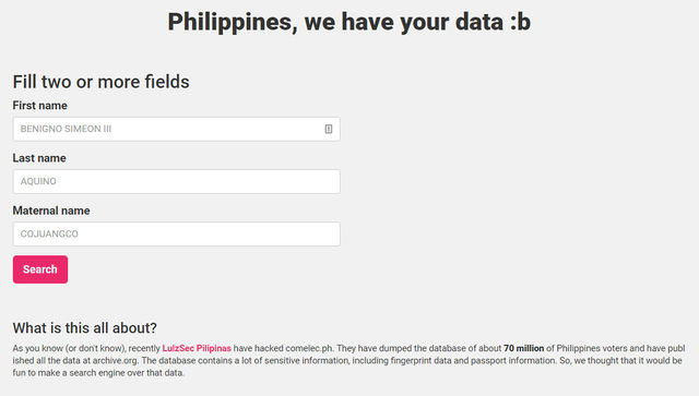 COMELEC to netizens: Avoid visiting hackers' website to avoid identity theft