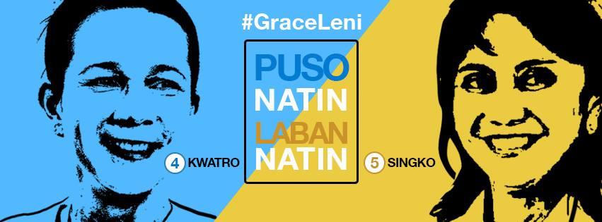 #GraceLeni | Groups push for Poe, Robredo tandem