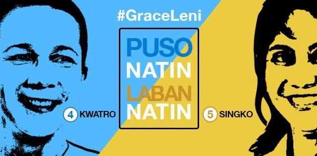 #GraceLeni poe-robredo 2016