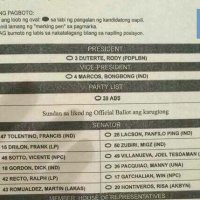 LOOK: Iglesia ni Cristo's list of endorsed senate candidates for 2016