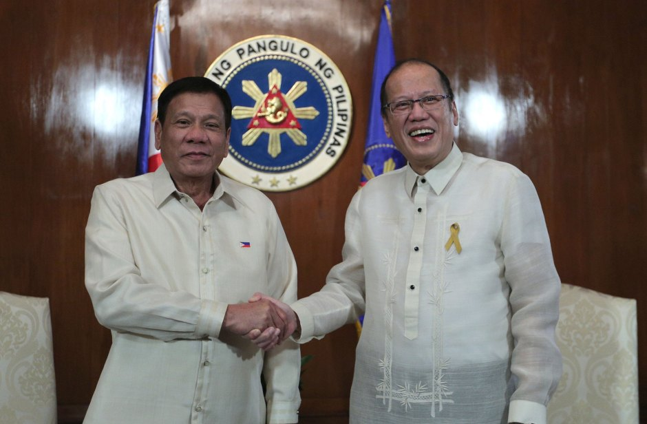 noynoy aquino rodrigo duterte