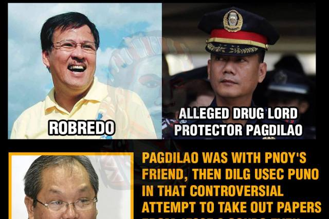 General Pagdilao joined the raid of Robredo's condo unit days after his death