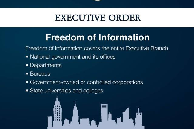 Duterte signs order on Freedom of Information for executive branch
