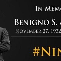 August 21 2016 Philippine holiday – Ninoy Aquino day