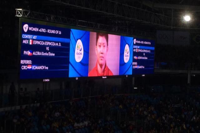 NO 2ND MEDAL FOR PH | Pinay taekwondo jin Elaine Alora loses to Mexican veteran