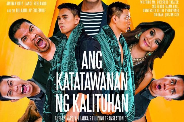 Dulaang UP presents 'Ang Katatawanan ng Kalituhan'