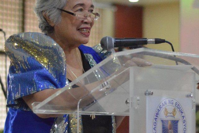 DepEd Secretary Leonor Briones' message to graduates of batch 2017