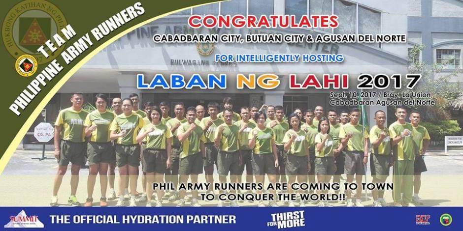 Laban ng Lahi 2017 marathon
