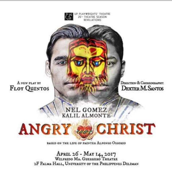 """UP Playwrights' Theatre presents """"Angry Christ"""""""