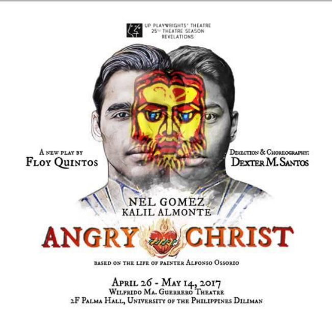 UP Playwrights Theater-Angry-Christ