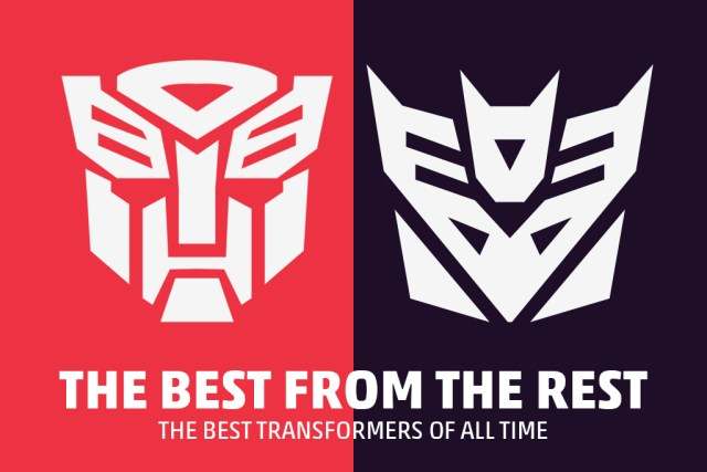 TRANSFORMERS 5.0   The five best 'Transformers' of all time