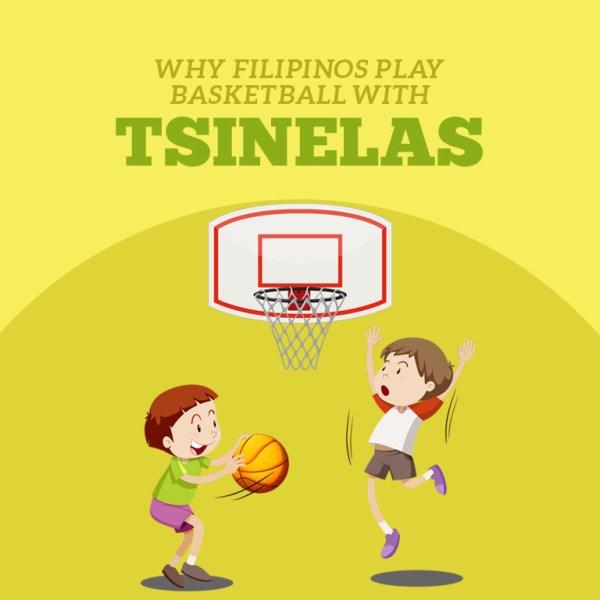 Why do Filipinos play basketball in tsinelas?