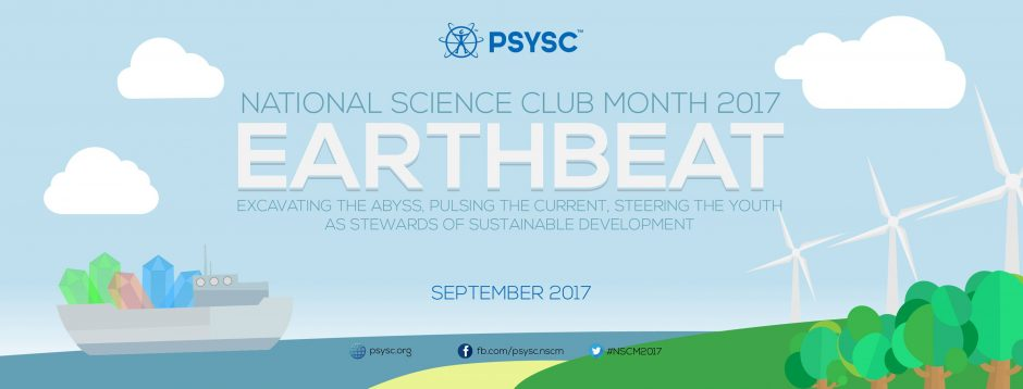 "National Science Club Month 2017 theme – ""EARTHBEAT"""