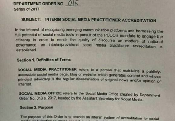 press accreditation for bloggers
