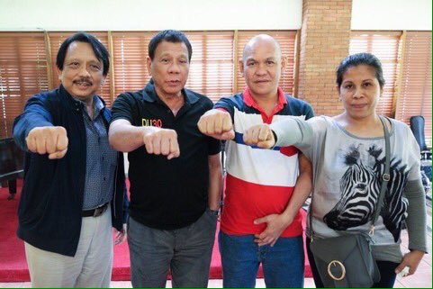Duterte and Kian Delos Santos parents