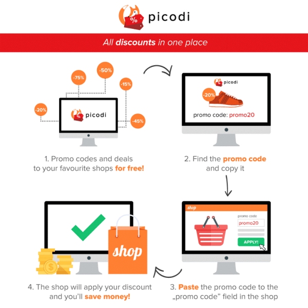 Buy more books for less with Picodi!