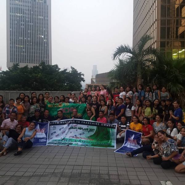 OFWs in Hong Kong go all out in support of 'Laban ng Lahi 2017'