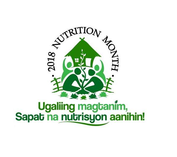 "Nutrition Month Theme 2018: ""Ugaliing magtanim, Sapat na nutrisyon aanihin!"""