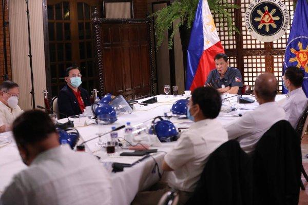 Duterte lockdown extensionDuterte lockdown extension