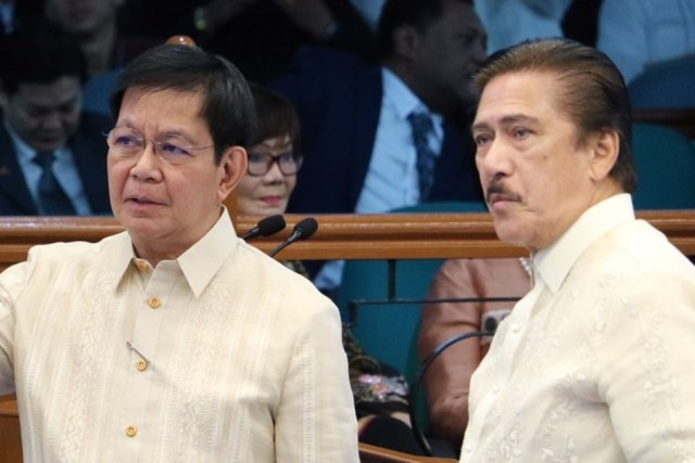 #BotongPinoy2022 – Lacson announces 2022 presidential bid with Sotto as running-mate