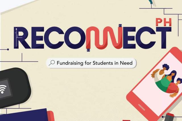 RECONNECT PH: Helping students in need meet the requirements of online learning