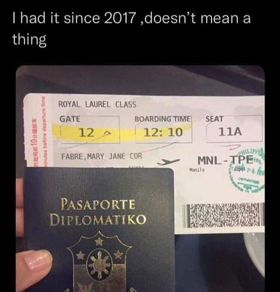 Filipino netizen Mary Jane Fabre goes after the diplomatic passports of BTS, fails spectacularly