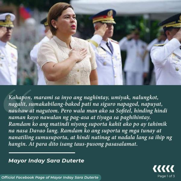 Sara Duterte can still run as a substitute candidate for president – #BotongPinoy2022
