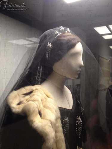 Parrucca Filistrucchi per La Traviata per l'allestimento espositivo alla Fondazione Zeffirelli