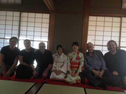 INQUIETO SIA IL GENIO-Gifu -La cerimonia del the