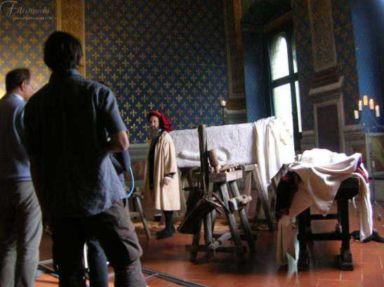 Leonardo da Vinci -Secret of Florence dal set