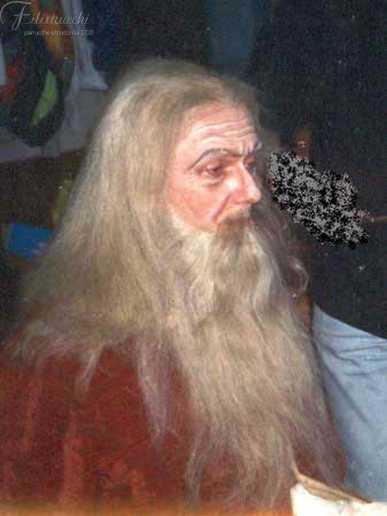 Piergiulio Zalla nei panni di Leonardo da Vinci