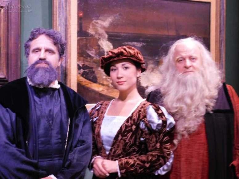 da sinistra Luca Cartoci, Maya Quattrini, Fabio Baronti