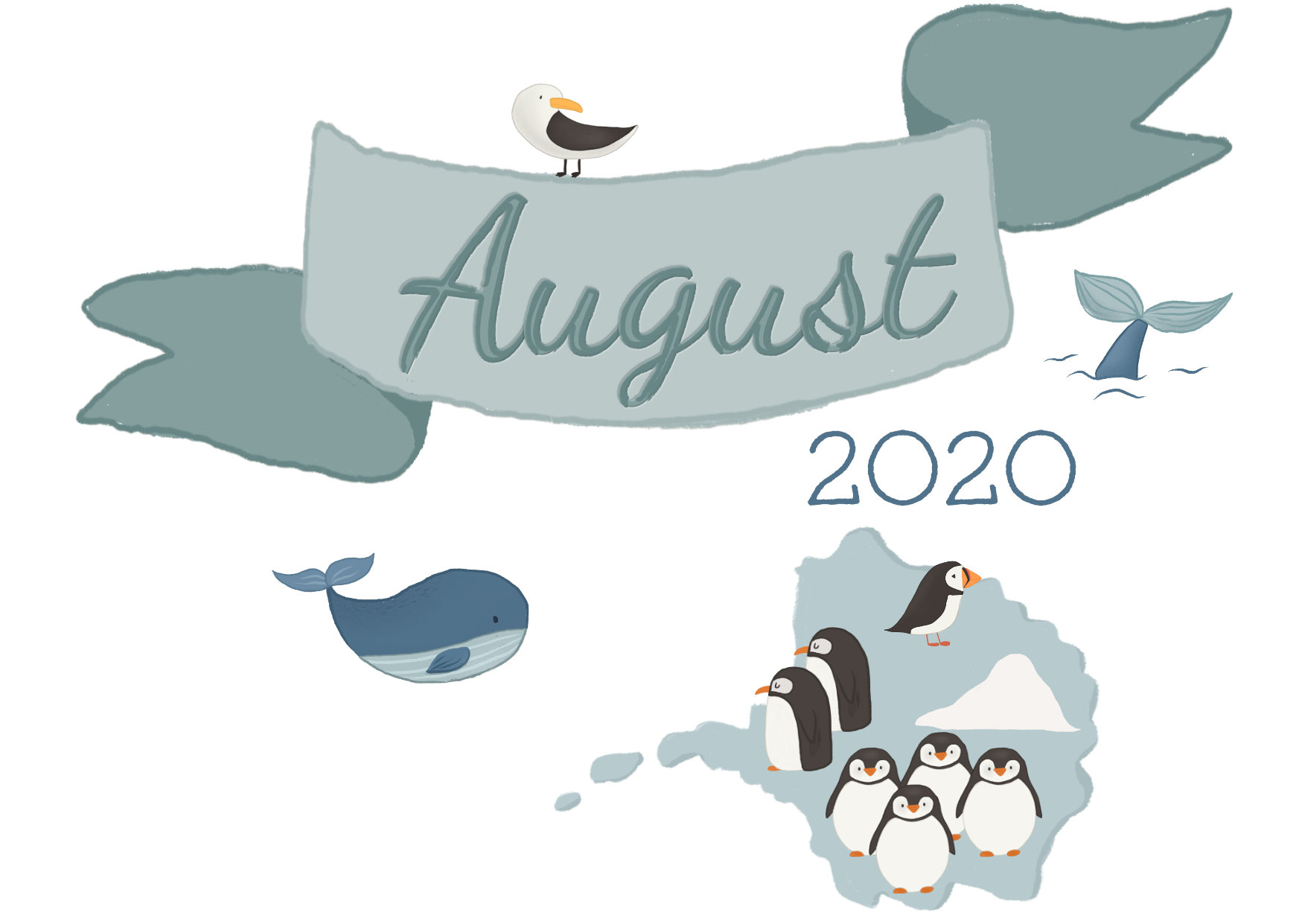 August 2020 banner and cover picture