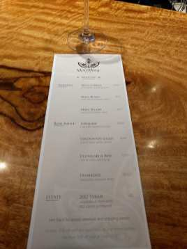 maui wine tasting list