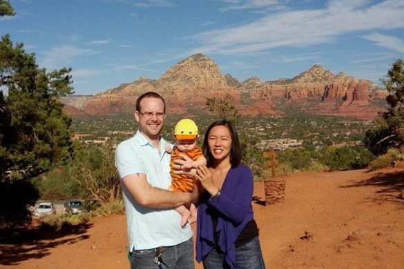 Flying Lad in Sedona